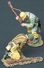 THOMAS GUNN WW2 GERMAN DAK FALLSCHIRMJAGER FJ004B KNOCK OUT BLOW DESERT MIB