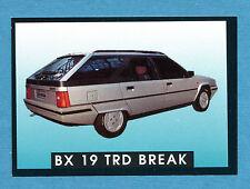 AUTO - Stickline - Figurina-Sticker n. 45 - CITROEN BX 19 TRD BREAK -New