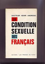 la condition sexuelle des francais - docteur henri amoroso