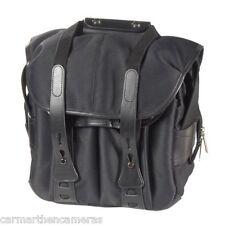 Billingham 107 Black Fibrenyte Camera Bag with Black Leather Trim 506002-01 *UK*