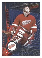 Mike Vernon,1997-98 Pacific Dynagon Silver Card, # 45, Detroit Red Wings