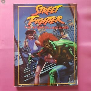 STREET FIGHTER THE STORYTELLING GAME CORE BOOK - WHITE WOLF RPG ROLEPLAYING OOP