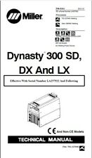 Miller Dynasty 300 Dx Effective With La 257922 And Following Service Manual