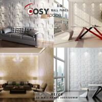 Wall Cladding 3D Wall Panel Natural Bamboo Fibre Tiles Featured Wall Decor Trend