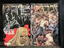IMAGE THE WALKING DEAD #161 COVER A & B SET SIGNED BY CHARLIE ADLARD w/COA