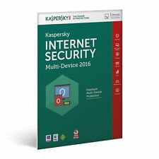 KASPERSKY Internet Security 2016 Multi Device 5 User 1 Year Antivirus Download