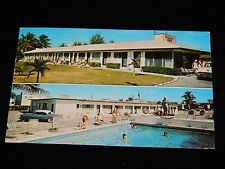 Vintage Postcard,MIAMI BEACH, FLORIDA, FL,Multi-View Bimini Bay Motel,To NY,1959
