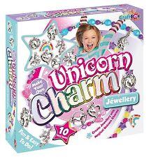 UNICORN CHARM JEWELLERY KIT BY CRAFTBOX FROM INTERPLAY - BRAND NEW!