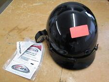 Zox Nano Custom Glossy Black Motorcycle Helmet Size XL Z88-00225