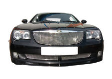 Chrysler Crossfire - Front Grille Set - Silver finish (2004 to 2008)