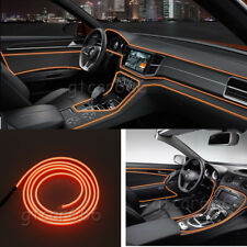 5M 12V EL Wire Orange Cold light Strip Neon Lamp Atmosphere Lights Unique Decor