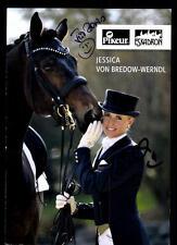 Jessica von Bredow Werndl Autogrammkarte Original Signiert + A 106703
