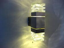 Außenleuchte Fassadenleuchte Wandleuchte IP44 Glas günstig anthrazit Leipzig 7
