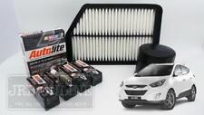 HYUNDAI iX35 LM 2.0L 2.4L G4KD G4KE 10~13 AIR OIL FILTER SPARK PLUGS SERVICE KIT