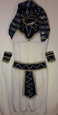 Boy's EGYPTIAN Pharaoh Joseph Biblical White Robe COSTUME SCHOOL Project