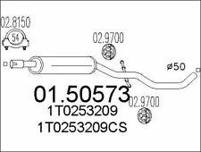 SILENCIEUX INTERMéDIAIRE POUR VW TOURAN 1.6