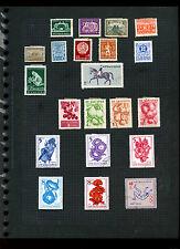 BULGARIA pagina di album di francobolli #V5547