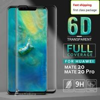 Huawei Mate 30 / 20 Pro Screen /Lens Protector Tempered Glass 6D Full Protection