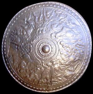 Roman Shield in Bronze finish replica reproduction