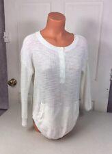 MICHAEL STARS Cableknit Sailor Sweater Women's Medium