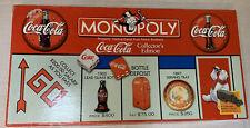 Coca Cola Coke Collector's Edition Monopoly Board Game