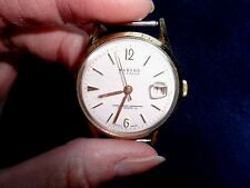 Manson Calendar AntiMagnetic, Unbreakable Mainspring Swiss Made Watch Works