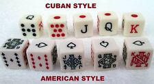 Cubilete Poker Dice AMERICAN DICE ONLY AVAILABLE