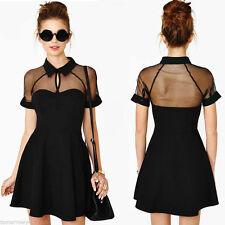 Unbranded Polyester Short Sleeve Sundresses for Women