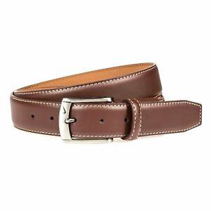 Nike Men's Core 35MM G-Flex W/ Stitch Golf Belt S11042 - Brown - Pick Size