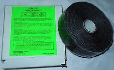 "New Seal-Tite Fusion Wrap Black 28566 Black  130 thru +500°F - 1"" W x 54'L"