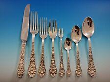 Medici Old by Gorham Sterling Silver Flatware Set for 8 Dinner Service 79 Pieces