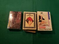 LOT OF 3! Vintage Japanese Playing Cards Geisha Kimono, Scenes, Silvia Maddonni