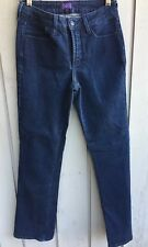 "Not Your Daughter's Jeans bootcut jeans Size 6 mid rise 31"" Lng dark wash NYDJ"
