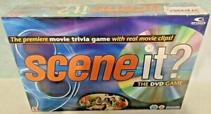 Scene It? The DVD Game - Movie Trivia Game with Real Movie Clips - New & Sealed