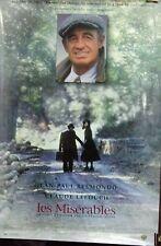 Les Misérables Original 1995 Double Sided 27x40 Movie Poster Jean Paul Belmondo