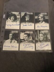 Twilight Zone Series 1 Autograph Cards Six In Total