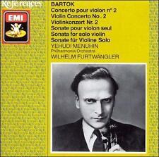 Bartok; Menuhin; Furtwangler; Bpo .. Violin Concerto 2