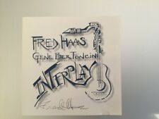 SIGNED Fred Haas: Interplay; used mint CD