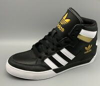 Adidas Hard Court Hi Black/White Gold/Metallic FV5327 (B grade)