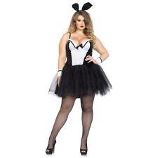 Bunny Costume Adult Sexy Tuxedo Rabbit Halloween Fancy Dress