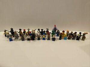Lot Of 40 Minifigures mix Lot Ninjago Star Wars More Figures