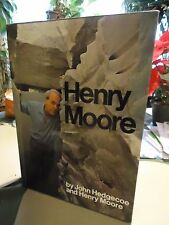 Henry Moore- Moore & Hedgecoe- Large Deluxe 1st Edit in Slipcase-Sculpture