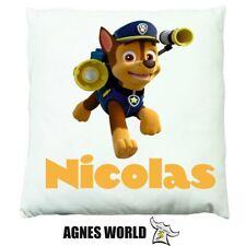 Personalised Boys girls Paw Patrol Cushion Pillow Gift Birthday Present Custom