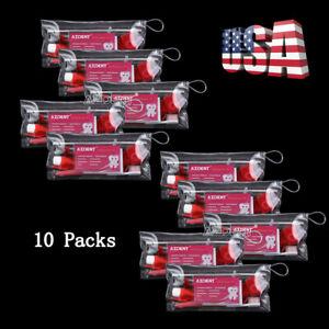 10 Packs Dental Orthodontics Brush Floss Oral Care Kit Tooth Brush Tie AZDENT