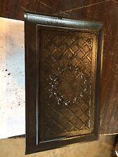Ornate Wreath Cast Iron Wall Mount Heating Grate Tc 79