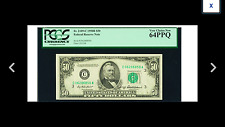 SALE ONLY $149  PHILLY  $50 1950B Federal Reserve . PCGS Very Choice new 64 PPQ