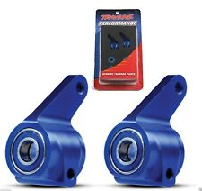 Traxxas Aluminum Steering Block BLUE Rustler / Bandit / Stampede / Slash # 3636A