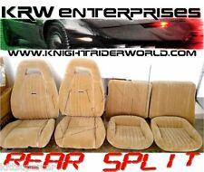 1982-92 PONTIAC FIREBIRD KNIGHT RIDER KITT KARR UPHOLSTERY PMD SEAT COVERS SPLIT