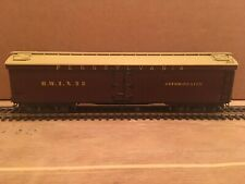 HO Central Valley Ambroid Pennsylvania Wood Reefer Boxcar BWIX #23 PRR