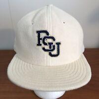 Penn State Baseball Hat Snapback Cap White Vintage 90s University Nittany Lions